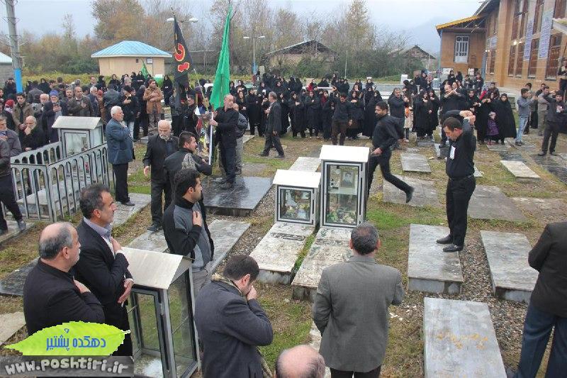 عکسهایی از مراسم سومین روز در گذشت مرحوم حسین صادقی پشتیری